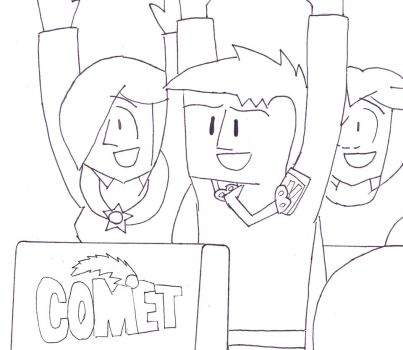 Comet Coaster by RosalinasSoulmate
