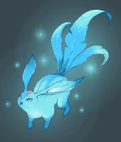 Carbuncle Summon from FF14 by skyehopper