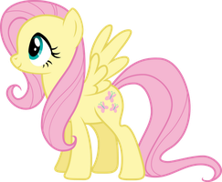 Fluttershy Vector by Pilot231