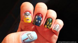 Thor nails by tharesek