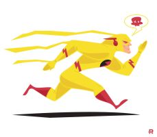 Reverse Flash by funky23