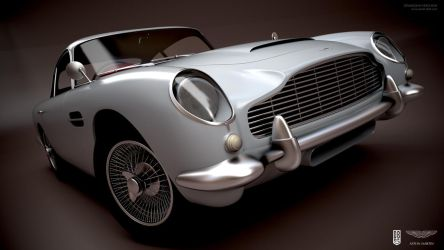 Aston Martin DB5 by aash