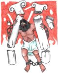 Judges 16:28-30 (Death of Samson) by Parastos