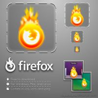 Firefox Icon by FSGdesigns