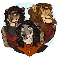 Three Brothers by alridpath