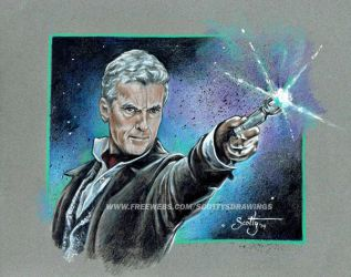 Doctor Who 12th Doctor (2014) by scotty309