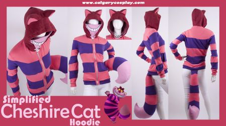 Simple Cheshire Cat Hoodie by KayPikeFashion