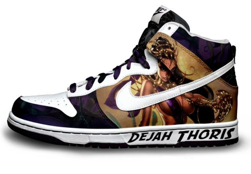 NIKE Shoe Dejah Thoris by afaikars