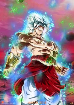 Patreon's poll : Broly Ultra Instinct by Maniaxoi