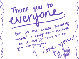 Thank You by JaidenAnimations