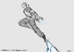inFAMOUS 2: Cole McGrath by onlyCHUCK