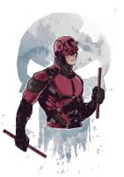 Marvel's Daredevil | Netflix WATERCOLORS by LudoDRodriguez