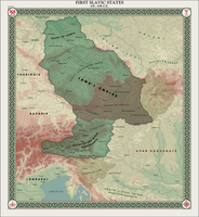 HAoE: First Slavic States by zalezsky