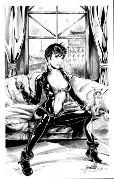 catwoman inks by GIO2286