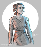 Rey by toastydoodles