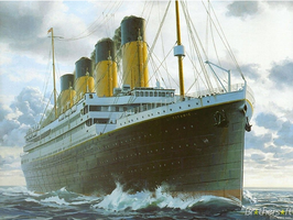 RMS Titanic, the 1912 Giant by 121199