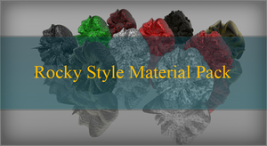 Rocky Material Pack by AKLP
