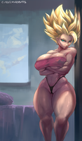 #240 Caulifla by cutesexyrobutts