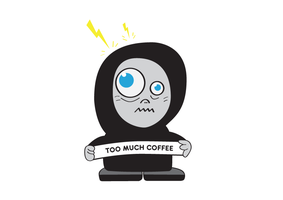 Too Much Coffee by azzza
