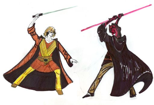 Revenge of the Sith by jesterry