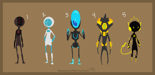 Robo Adopts 3 [Point Option Added!] by Adopt-Monstar