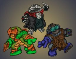 GDT Villains by MadGoblin