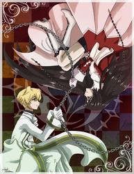 Pandora Hearts - Alice and Oz by Darkbutterfly137