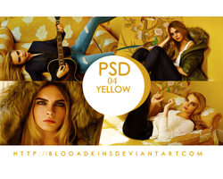 PSD 04: Yellow by blooadkins