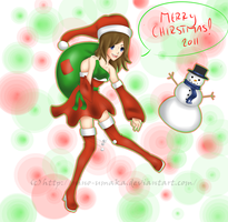 Merry Christmas 2011 by Hey-its-Jess