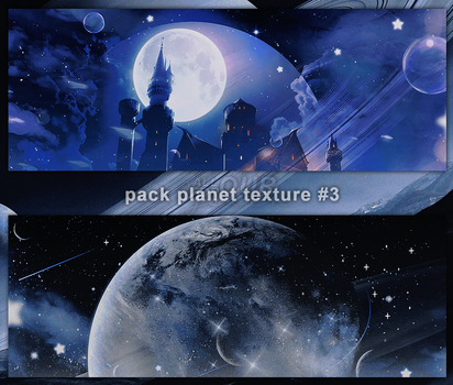 //010618// PACK TEXTURE PLANET #3 by minhyunbin27