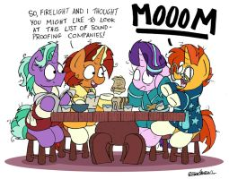 A Family Breakfast by bobthedalek