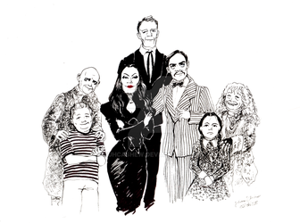 Addams Family. by juhcashew
