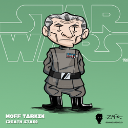 Starwars 008 MoffTarkin ANewHope DeathStar by yellowpollo