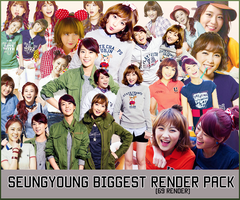 Pack PNG - Seungyoung (Kara) by MiHVVN