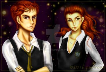 The Twins by papirous