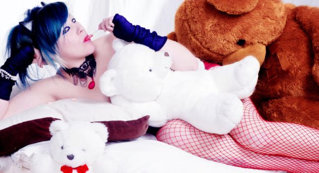Where the teddy bears stay by MorticiaEnslavement