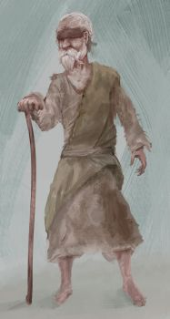 Old man concept by Ranivius