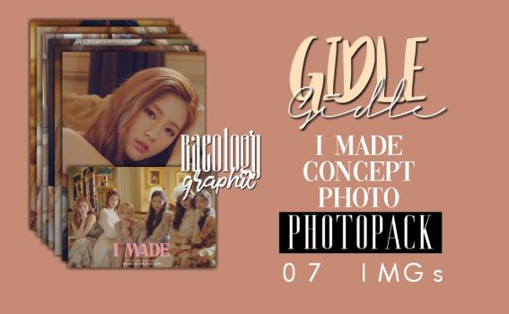 G-I-DLE 'I Made' Concept Photo Pack #1 by Baeology