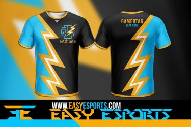 eAthlete [Esport Apparel Design] by SoberDreams