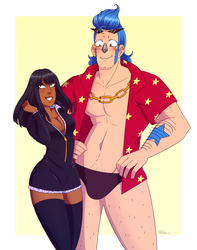 Robin and Franky by Friwil