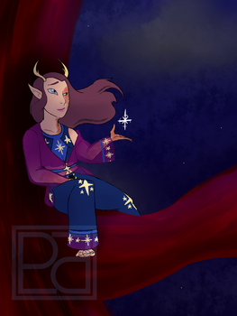 OC Pageant'18 [Round 2]: Starry Dreams by PlutonianParadox