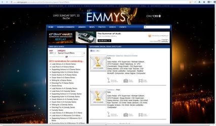 Blood and Chrome: Emmy Nominee! by Casperium