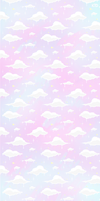 Pastel clouds custom box background by Kaiidumb