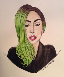 Neon Gaga by dice1029