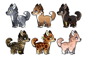 Design Batch Five - Closed by PengrisuKnightAdopts
