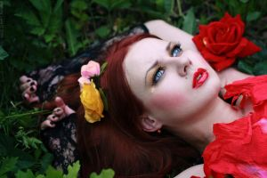 the Bloom of My Sorrow by iomaSaty