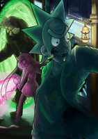 Interdimensional Troublemakers part 3 by SafirasArt