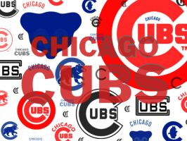Chicago Cubs Brush Pack by UneekResources
