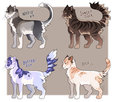 cat adopts - AUCTION - closed by coyotestars