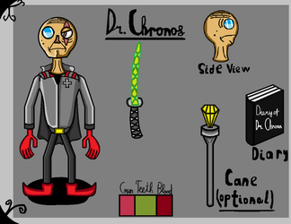 Dr. Chronos Reference (REMAKE) by BrokenAuthor